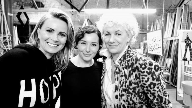 Ewa Helena Martin, Nathalie Procaccia, Frida Kappich